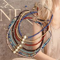 Perles en gros été Myuki Charms en perles tissées à la main Bracelets de perles d'amitié Corde Petit Bracelet pour femmes Bijoux Livraison gratuite
