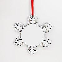 MDF Blank sublimazione di Natale in legno dell'albero di Natale appesi stampa fronte-retro decorazioni natalizie CYZ2816