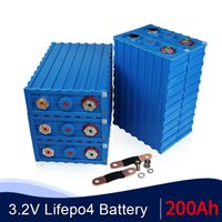 Yeni Sınıf Bir Calb 48 adet 3.2 V 200Ah Lityum Demir Fosfat LIFEPO4 Pil Paketi DIY EV Güneş 12 V 24 V 48 V 72 V Hücreleri AB ABD Vergi Ücretsiz