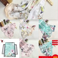 wxd3n Silk Chiffon Scarf embroidery Women Cover flowers Long...