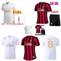 Homens + Kids 2020 2021 MLS Parley Atlanta United FC Soccer Jersey 19 20 Barco Garza Jones Villalba McCann Martinez Almon Futebol Camisas