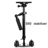 التعامل مع مثبت الصور فيديو سبائك الألومنيوم للمحمول مثبت رماية Steadycam DSLR Steadicam DSLR كاميرا