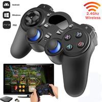 Console di gioco Joystick Gamepad 2.4GHz Wireless Game Controller Gamepad forma per Android / Tavola scatola / TV / Smart TV e per il PC PS3
