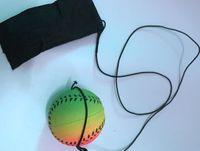оптовые 2020 бейсбол и софтбол игрушки новый ПРИБЫТИЕ Случайные 5 Стиль Fun игрушки Надувной Fluorescent резиновый мячик лучезапястного сустава Болл