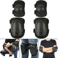 Coupeaux à genoux Tactical Kneepad Pad Protecteur Armée Sport extérieur Sport de chasse Patinage Patinage Sécurité Engine de sécurité Kneecap