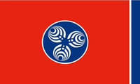 Chattanooga Tennessee Bassnectar-Flagge 3FT mit 5ft 100D-Polyester-Flaggen und Banner
