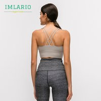 Imlario Datum Push-up Sport-BHs Frauen Stoß- Bodybuilding Yoga Brassiere Soft-Cup Fitness sportlich Bra Top High Impact