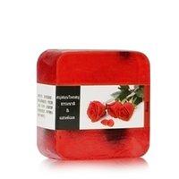 과일 수제 비누 오일 컨트롤 모이스춰 라이징 과일 에센셜 오일 비누 레이디 얼굴 청소 비누 30 개 무료 DHL