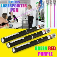 3Colors 900Miles Green&Red&Blue Violet Laser Pointer Pen 650/532/405nm Powerful Visible Lazer Beam Light Cat Toy Light