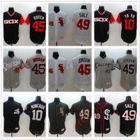 2020 Custom White 72 Carlton Fisk # 79 Jose Abreu 45 Michael 35 Frank Thomas Costurado 20 21 Jersey de Beisebol Atacado