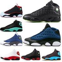 Mit Box 5 What The Fire Red 5s Oregon Enten Herren-Basketball-Schuhe 13s 13 3M Glück grün Flint Sport Turnschuhe Freies Shippment