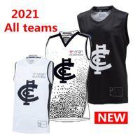 vendite calde 2021 tutto costa occidentale AFL maglia Geelong Cats Guernseys Richmond Tigers Adelaide Crows aquile St Kilda SANTI Collingwood singoletto