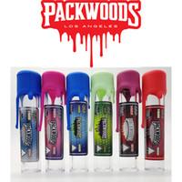Packwoods Preroll Ortak Ambalaj Tüpleri 118mm Kral Boyutu Ön Rulo Puro Üst Raf Tüplü Renkli Caps Boş Moonrock Dankwoods Şişe