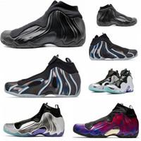 2020 Nouvelle vente FlightPosite 1 CNY Gel Mens Basketball Chaussures Noir Purple Silver Fibre de carbone Topaz Mist Sports Casual Sneakers Top Qualité