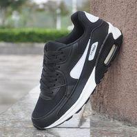 Envío gratis clásico 90 zapatos para hombre zapatos al aire libre zapatos al aire libre blanco deporte choque jogging caminando senderismo deportes zapatillas deportivas zapatos 88
