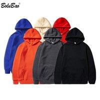 BOLUBAO Brand Men's Hoodies New Spring Male Jogging Hooded Sweatshirts Comfortable Solid Color Breathable Hoodies Sweatshirt Men CX200819