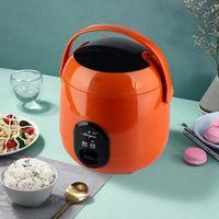 Pirinç Ocaklar 220 V Mini Ocak Vapur Yemek Pişirme Pot Taşınabilir Isıtma Öğle Yemeği Kutusu Çorbası Püresi Çok Fonksiyonlu 1.2L