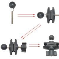 Accessori per l'illuminazione Studio Espandi Aggiungere una palla Base da 1 pollice per il montaggio RAM B-Dimensioni Braccio accessorio