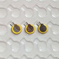Батарея клетки лития 3V Cr1220 с батареями вкладок PINS