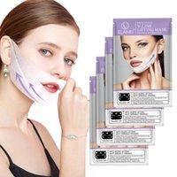 Lifting, Gesichtsmaske, V-Form-Gesichts-Doppelkinn Reducer prüfen Halslift Feuchtigkeitsspend Peel Off Maske Skin Care