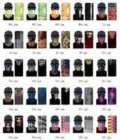 2020 3D del collo di sport Skull biciclette Pesca Sciarpa bandane Shield Maschera fascia Bandana Headwear Anello Sciarpa passamontagna bicicletta