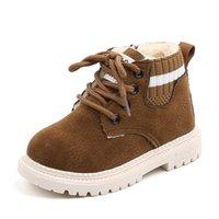 أحذية أطفال خريف وشتاء الأطفال سنو الكاحل أحذية الأطفال الفتيان حذاء مقاوم للماء فتاة الشتاء أحذية الحجم 1 2 3 4 5 6 7 السنة قديم