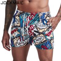 JOCKMAIL Herren Shorts Stamm-Strand-Brett ShortsPrinted Blumen-Cartoon Schwimmhose Badeanzüge der Männer Shorts surffing