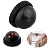 가짜 카메라 시뮬레이션 보안 비디오 감시 더미 IR LED 돔 카메라 신호 발생기 산타 보안 WY766 공급
