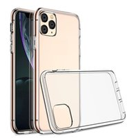 TPU Clear Capas de telefone Capa Capa Para iPhone 12 Pro Max 11 XS XR 8 7Plus