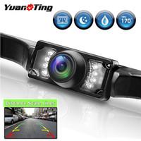 YuanTing CMOS étanche universel 170 Grand angle US plaque d'immatriculation arrière de voiture Caméra Parking sauvegarde IR Night Vision 7 LED HD