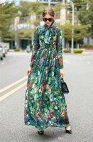 Kleidung Blumendruck-Damen beiläufige Kleider Elegante Fliege Zipper Panelled Frauen Desigenr Kleider beiläufige Frauen