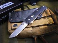 벤치 메이드 BM601 601 440C의 G10 접는 EDC 캠핑 나비 트레이너 칼 생존 접는 나이프 a3077