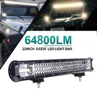 22 tum 648W LED-arbete Ljuspunkt Flood Combo LED körljus