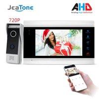 JeaTone New 7 « » Smart WiFi Wired vidéophone Interphone avec 720P AHD Sonnette Caméra App gratuite à distance de détection de mouvement