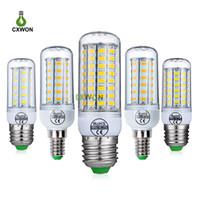 옥수수 LED 전구 110V 220V SMD 5730 24 36 48 56 69 72의 LED 전구 샹들리에 캔 옥수수 램프 조명 홈