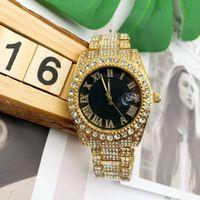 블링 남성 여성 패션 시계 전체 다이아몬드 아이스 밖으로 시계 스테인레스 스틸 석영 운동 저렴한 판매 남성 선물 드레스 손목 시계 시계