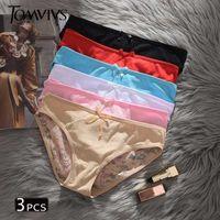 Bragas para mujer Tomvivs 3 PCS G String Thongs Ropa interior Mujeres Llegada Sexy Baja Cintura Lencerie P0038