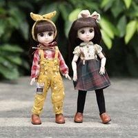 36CM BJD Accesorios Vestido de muñecas para ropa de muñeca Niños DIY UP Regalo de juguetes de moda