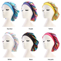 Mujer Bonnet Quimio Cap Durag Hats Durags Musulmlum Satin Transpirable Bandana Durmiente Turban Hat Womens Headwrap Accesorios para el cabello