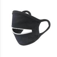Máscaras de diseño de la cremallera de las mujeres El hombre en bicicleta protector de boca cubierta Fashio Thin Solid Suncreen máscara a prueba de polvo respirable OWA741