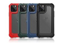 New Arrival Carbon Fiber Shockproof Case for iPhone XS 11 Pro Max XR 6 7 8 Plus SE 2020 Samsung S20 Plus Ultra