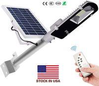 에디슨 30W 60W 90W LED 태양 광 가로등 레이더 센서 야외 방수 태양 광 보안 정원 램프 광 센서 스마트 라이트
