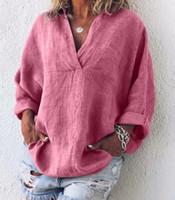 المرأة البلوزات القمصان 2021 ستايل شاية عارضة الملابس الناء الحلو مثير الأزياء لينة جيدة النسيج المرأة