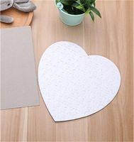 Süblimasyon Boş Yapboz Beyaz Aşk Kalp Kağıt Baskı Fotoğraflar Bulmaca Pürüzsüz Isı Transferi Oyuncaklar Yetişkin Çocuklar Özgünlük 2 3XM F2