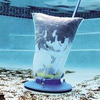 Strumento per la pulizia della piscina Mini Piscina Aspirapolvere Aspirapolvere Oggetti galleggianti Strumenti di pulizia Piscina Aspiratura Testa di pulizia Kit Net Kit Giardino