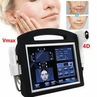 4D HIFU Makinesi 12 Hatlar + Vmax Yüksek Yoğunluklu Odaklanmış Ultrason Kırışıklık Kaldırma Yüz Vücut Zayıflama Cilt Sıkılaştırma Için