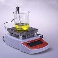 1PC Dijital Termostatik Sıcak Plaka Manyetik karıştırıcı Mikser MS400 dijital gösterge sıcaklığı manyetik karıştırıcı