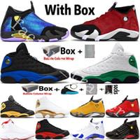 2020 وصول جديد أحذية Jumpman 14 14S DB Doernbecher رياضة الأحمر توربو الرجال لكرة السلة 13 13S فرط الملكي القطة السوداء الرياضة المدربين أحذية رياضية