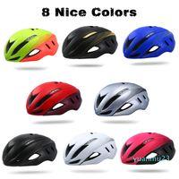 Großhandels-Geschwindigkeit Aero Fahrradhelm Aerodynamik Sicherheit Fahrradhelme für Fahrrad Männer Frauen Sport Racing Rennrad Helm 250g