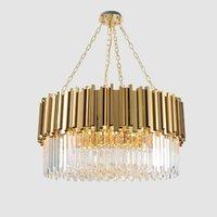 Modern Chandelier Lighting Crystal K9 Luxury Contemporary Chandeliers Pendant Hanging Light for living room Dinning Room lights